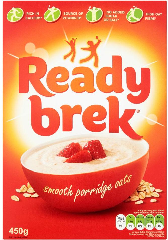 Ready Brek - Smooth Porridge Oats (450g) - £1 @ B&M