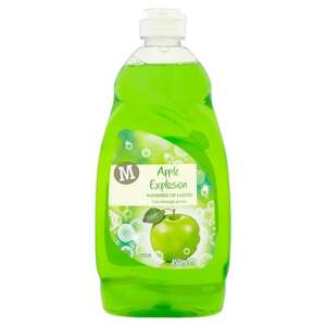 Morrison's s apple fragrance washing up liquid 450ml bottle 2 for £1= 900 ml @ morrisons