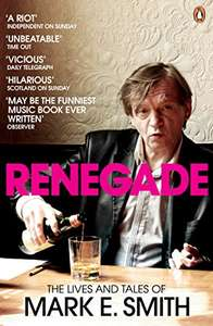 Mark E Smith autobiography kindle version 99p @ Amazon.  Also on Kobo site, Apple, and Google Play books