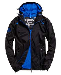 Men's Superdry Dual Zip Through Cagoule Black £23.99 Free Delivery @ Ebay - Superdry