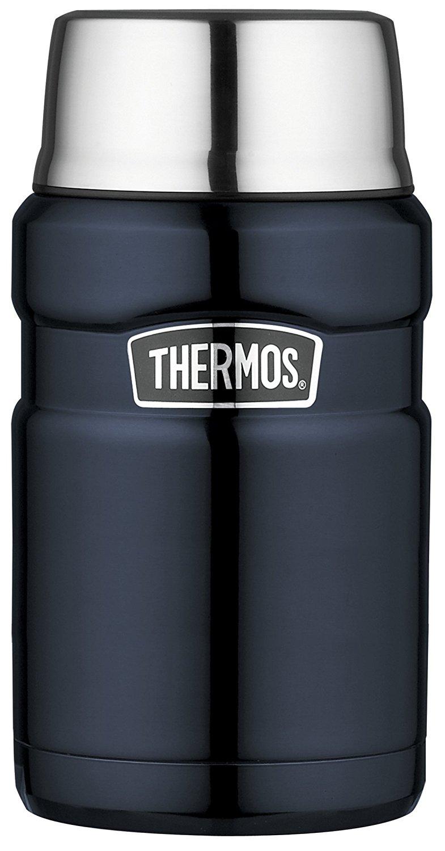 Thermos Stainless King Food Flask, Midnight Blue-710 ml (£19.99 Prime / £24.74 non Prime) @ Amazon