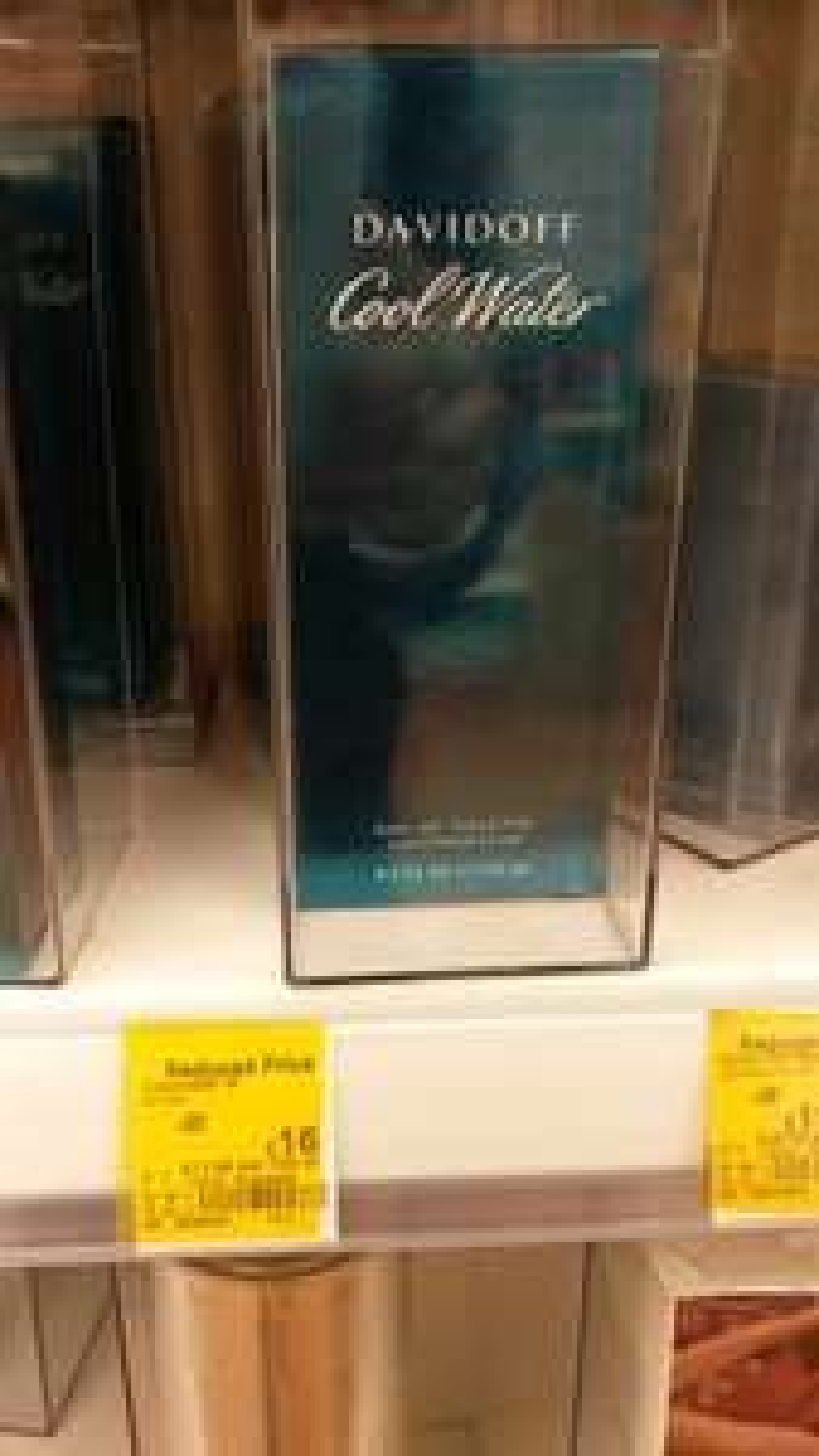 davidoff cool water 125ml £16 at Asda