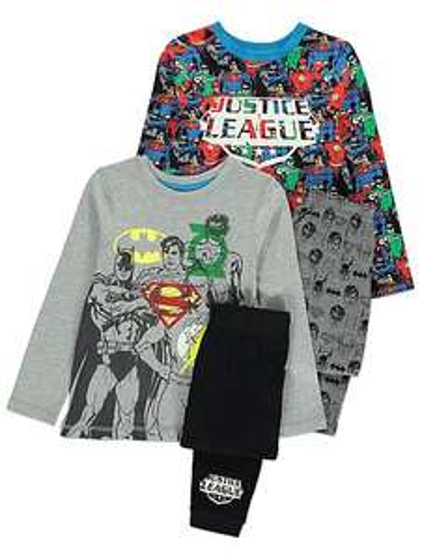 2 pack of D.C.Comics justice league children's pyjamas age 3-4,4-5,5-6 years £8 @asdageorge (free C&C)