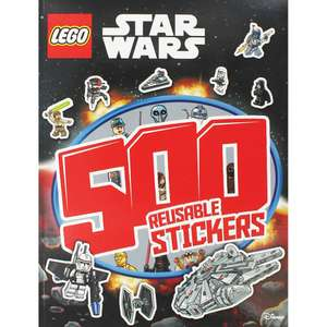 Lego Star Wars - 500 Reusable Stickers only £2.50 delivered with code WINTERDF @ The Works