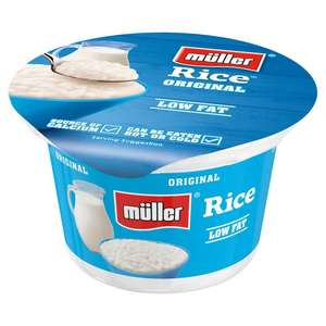 Muller rice ORIGINALS 12 for £3 @ Morrisons