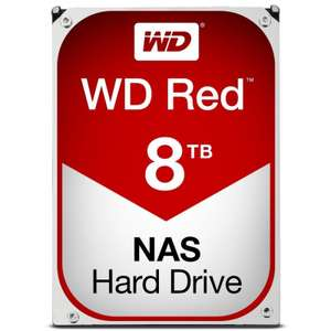 WD Red 8TB 3.5 SATA NAS Hard Drive (Free delivery) @ Amazon - £219.99