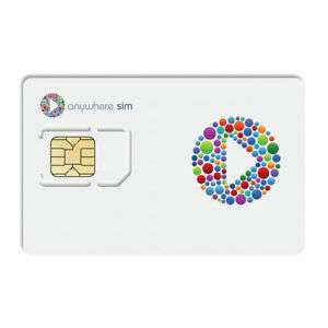 Anywhere Sim Card with £60 credit - £29.99 delivered @ eBay (seller foniacs_uk)