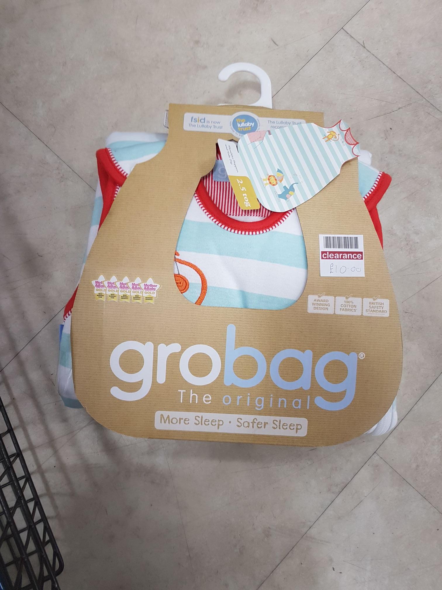 Gro bag instore @ Ballymena Boots - £10