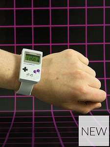 Pre order NOW for 22nd march delivery,Nintendo gameboy styled watch £19.99 @ very ,free c+ c