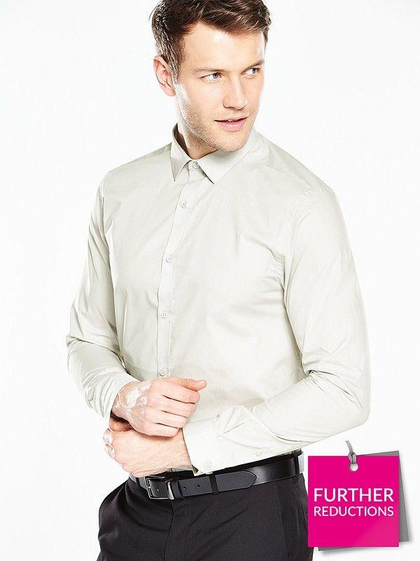 V By Very Long Sleeve Slim Shirt £4.80 free C&C