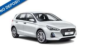 Hyundai i30 £136.80 per month, no deposit, 18 month lease. Total cost £2,462.40 @ Mad Sheep Leasing