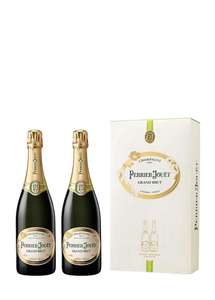 Perrier-Jouet Grand Brut Champagne Twin Pack, 75 cl (Case of 2)  £39.52 @ Amazon
