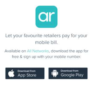 Airtime Rewards, earn cashback to your phone bill