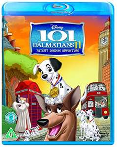 Disney 101 Dalmatians Patch's London Adventure Blu Ray £2.81 Amazon Prime (£4.80 Non Prime)