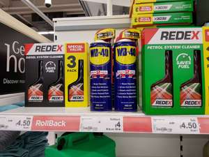 Redex Triple Pack for Petrol and Diesel £4.50 @ Asda Hyson Green Nottingham