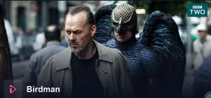 Birdman Multi-Oscar-Winning Movie available on BBC iPlayer