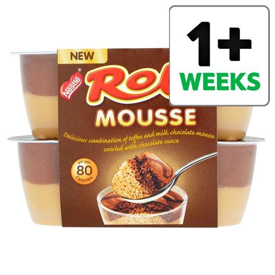 4 pack Rolo Mousse, Nestle Milkybar Mousse, Aero Chocolate Mousse & Aero Mint Chocolate Mousse now Half Price 75p @ Tesco