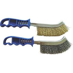Wire Brush 49p or a different Wire Brush 2 pack for 99p @ screwfix