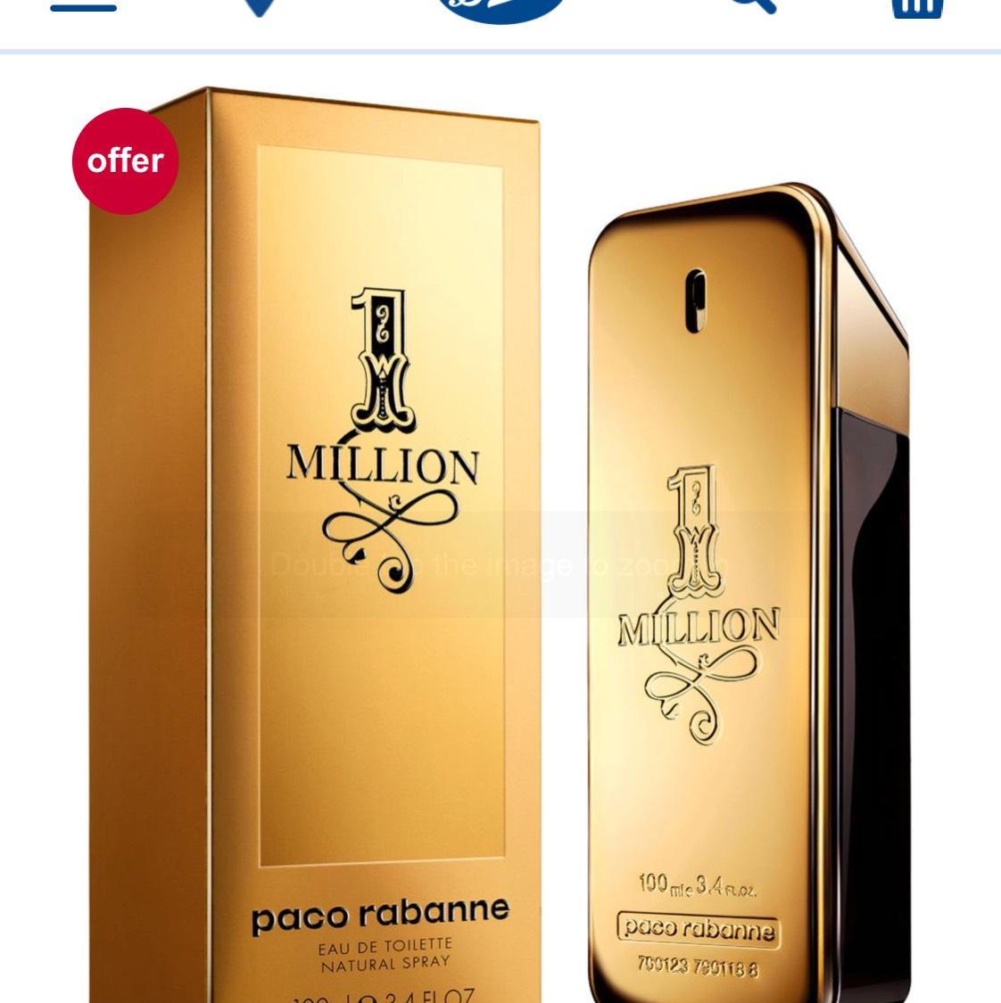 Paco Rabanne 1 Million For Men Eau de Toilette 100ml, free c&c from store £44.50 @ Boots