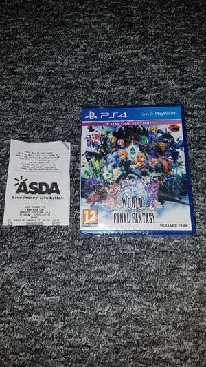 PS4 WORLD Of FINAL FANTASY DAY ONE EDITION £5 instore @ Asda