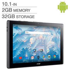 ACER Iconia One 10 Tablet (B3-A40FHD) 2017 Version - 2GB RAM, 32GB ROM, MT8167A Quad-Core 1.50 GHz, 1920x1200 Pixels, DTS-HD Premium Sound £134.99 With Code @ Argos Ebay