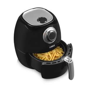 Tower T17005 Air Fryer, Rapid Air Circulation System, 1350 Watt, Black £43.61 Amazon