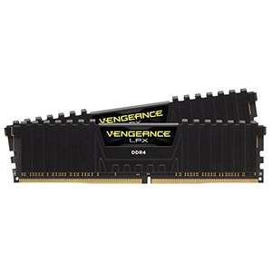 Corsair Vengeance LPX 16 GB (2 x 8 GB) DDR4 2400 MHz Memory Kit, Black £149.99 Amazon