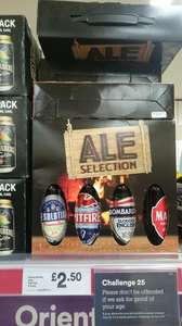 Great British Ale Selection,  £2.50 at Iceland (£5 at Morrisons)