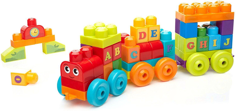 Mega Bloks Building Basics ABC Learning Train - Amazon - £8.26 (Prime) £13.01 (Non Prime)