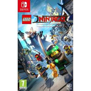 [PS4/Xbox One/Switch] Lego Ninjago Movie - £17.95 (Base - £17.85) / Agents of Mayhem: Day One Edition - £5.95 (X1/PS4) - TheGameCollection