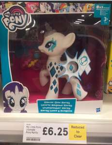 My Little Pony Ultimate Pony Glamour Glow Rarity half price £6.25 in store at Tesco