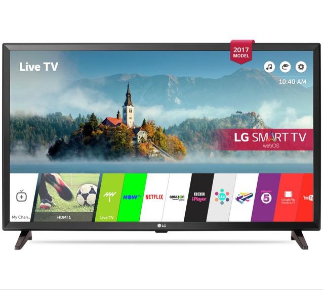 LG 32LJ610V 32 Inch Smart Full HD TV at Argos, plus £10 voucher - £249