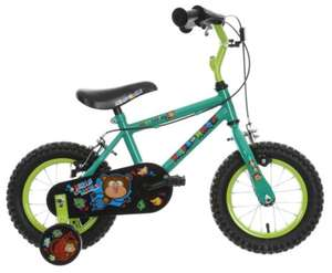 "Apollo Marvin the Monkey Kids Bike 12"" Wheel was £55 now £40 Del / C+C @ Halfords / Ebay (more in OP inc Indi Frogster & Lulu Kids Bikes- 12"" Wheel were £120 each now £40 each)"