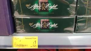 After Eight Mints - reduced to £1 at Asda instore