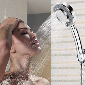 Spa Shower Head 3 Mode Selections - only £1.99 delivered - Sold by iZKA Distribution Limited via Amazon