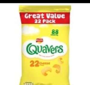 Quavers 22 Pack Asda - £2 instore