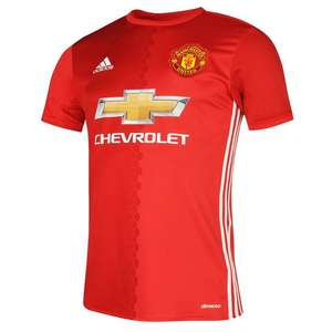 XL 2016/17 Manchester United home shirt 2016-2017 - £15 (+£4.99 P&P/C&C) @ Sports Direct