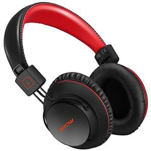 Mpow H1 Bluetooth Headphon, Wireless Bluetooth Over Ear Cushioned Headphones 15-20hrs battery - £9.99 (Prime)  / £14.98 (non Prime) Sold by longtop and Fulfilled by Amazon