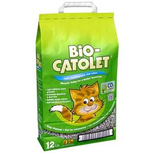 Bio-Catolet Cat Litter 12L cheapest so far £3.99 at B&M