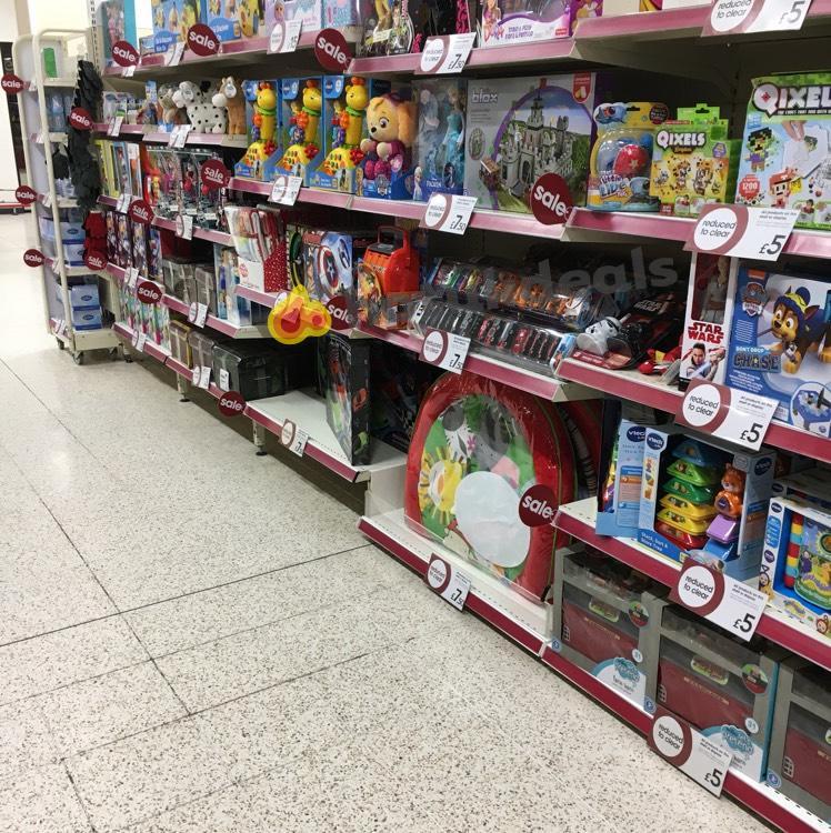 Wilko toy sale in store