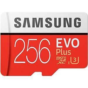 Samsung 256GB Micro SDXC Evo Plus - £99.99 (poss 89.99 with voucher and other purchases) @ MyMemory