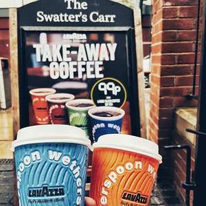 Wetherspoons: Take away hot drinks (including Lavazza coffees, lattes etc.) 99p