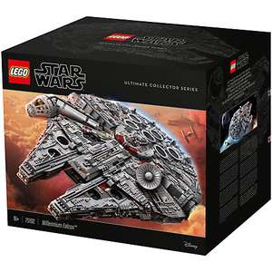 John Lewis - Star Wars LEGO Ultimate Collector Series 75192 Millennium Falcon Back in stock! for £649.99