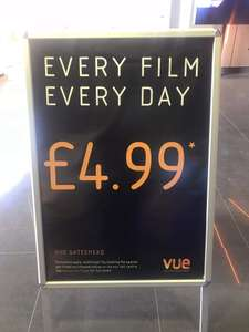 Vue Gateshead - £4.99 films