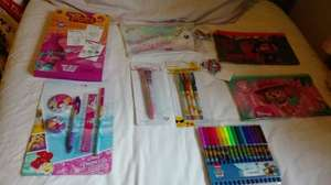 Poundworld Watford Various children's stationary reduced to 50p