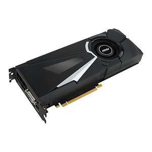 MSI GeForce GTX 1080 AERO 8G OC £555.47 @ Amazon