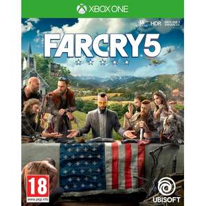 Pre-Order - Far Cry 5 Xbox One / PS4 £39.99 @ 365games (Standard Edition)