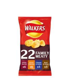 Walkers meaty 22 pack asda for £2