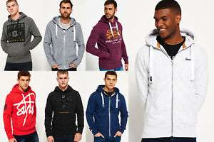 New Mens Superdry Hoodies Selection - Various Styles & Colours £18.39 @ Ebay Superdry