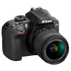 Nikon D3400 Digital SLR Camera with 18-55mm AF-P VR Lens - £374 @ Wex Photo Video